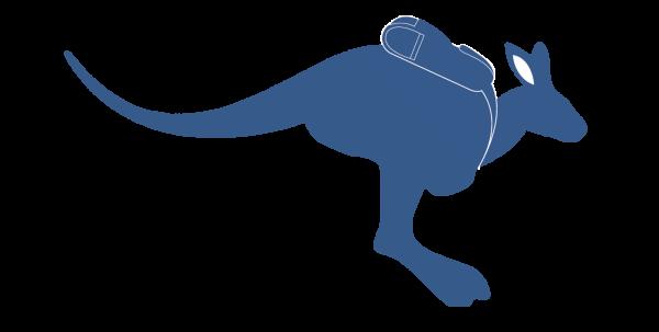 Australia Experience canguro logo
